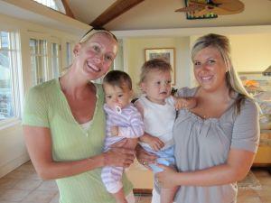 Angie, Vivi, James and Abby