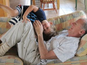 Thomas and Grandpa