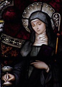 St. Brigid, patron saint of poultry farmers