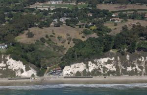 Hope Ranch Beach, from the California Coastal Records Project