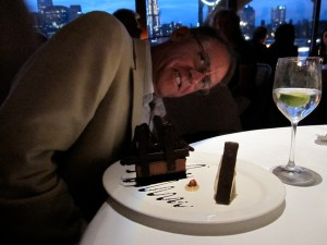 Signature dessert: The Brooklyn Bridge, of course