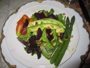 The salad!