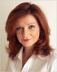 Maureen Dowd (photo from www.nytimes.com)