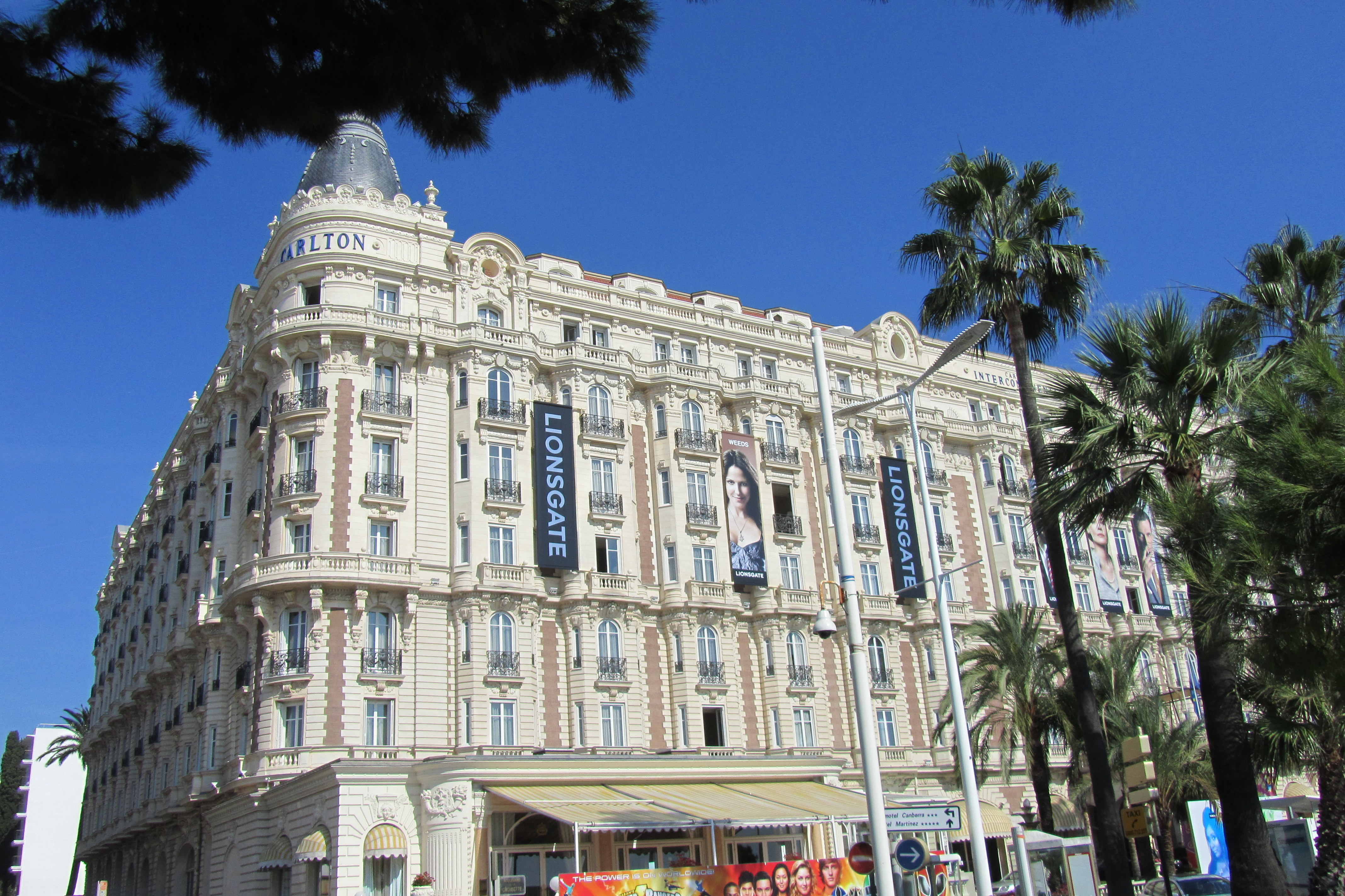 Hotel carlton cannes polloplayer for Hotels cannes