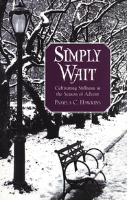 The author is Pamela Hawkins: published by Upper Room (image from christianbooks.com)