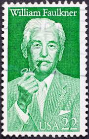 Stamp of approval: William Faulkner, literary giant (image from life123.com)