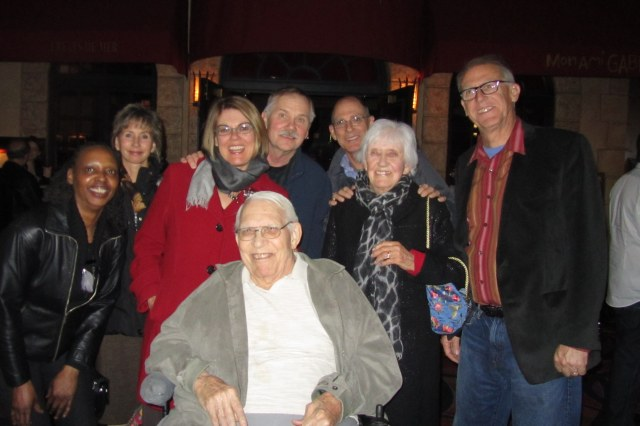 Uncle Delbert surrounded by his admirers in Las Vegas a year ago