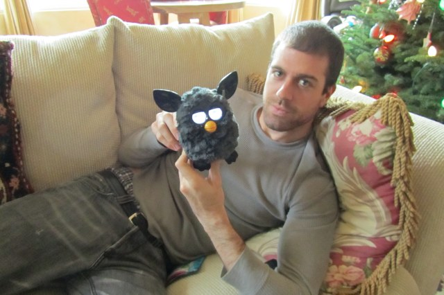 Sickie: only his Furby would go near him