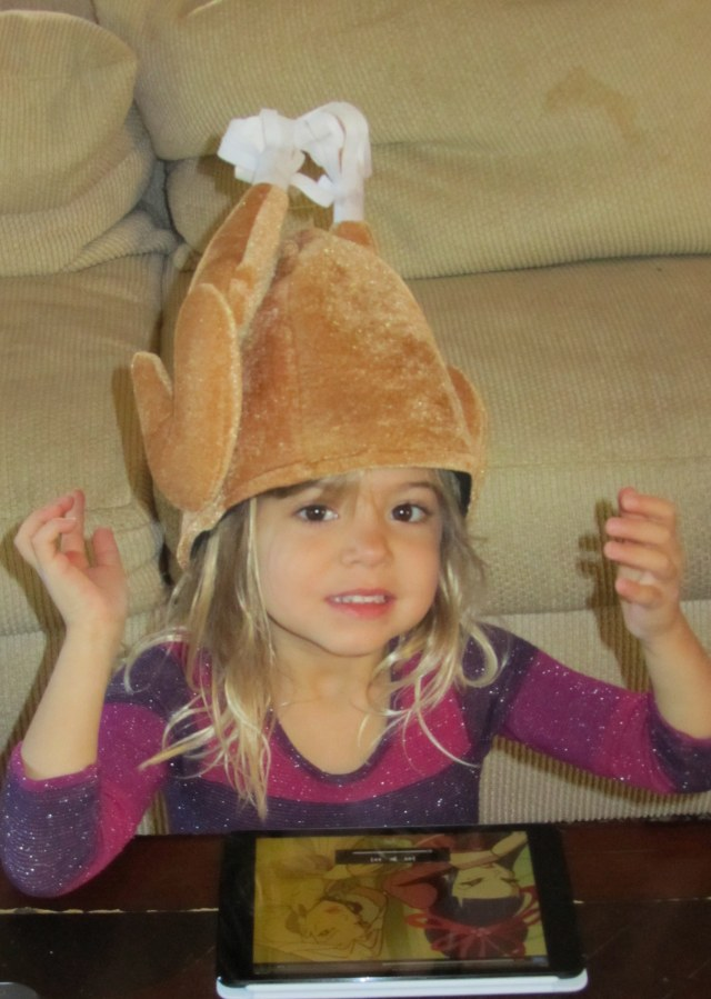 Viv and a turkey crown