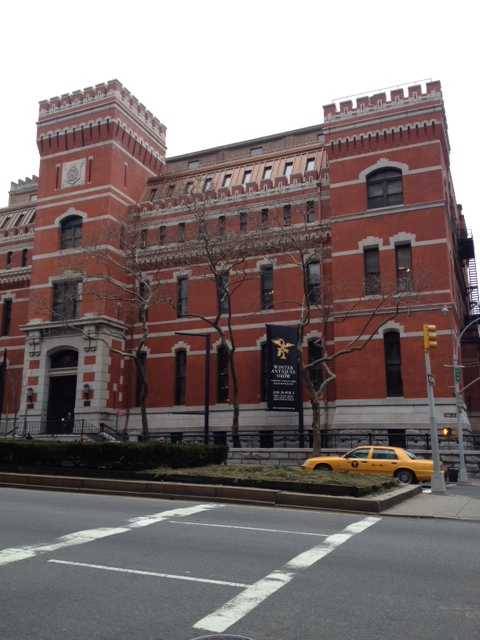 """Dedicated in 1880 as headquarters for the """"Silk Stocking Regiment"""", the building occupies an entire city block and is the only armory in the US to be built and furnished by private funding."""