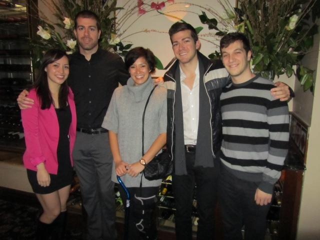 Birthday Celebration: Christine, Taylor, Teri, Daniel  and Chris