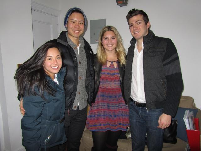 Jamie, Peter, Christina and Daniel