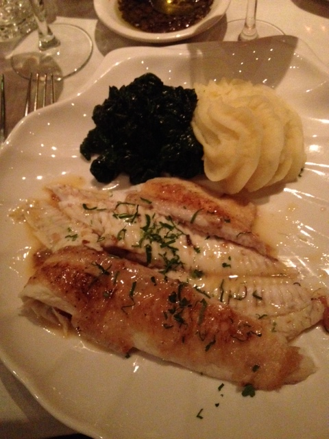 Dover Sole at La Masseria (Polloplayer photo)