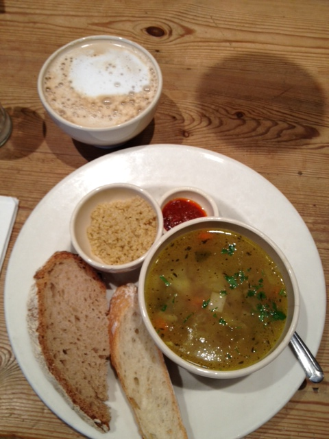 Give us this day, our pot au feu and a cafe au lait (polloplayer photo)