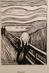 The Scream: part of a great but bleak Munch exhibit at MOMA