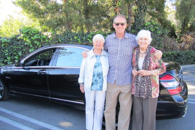 On the road again: the CE with Barb and Phyllis