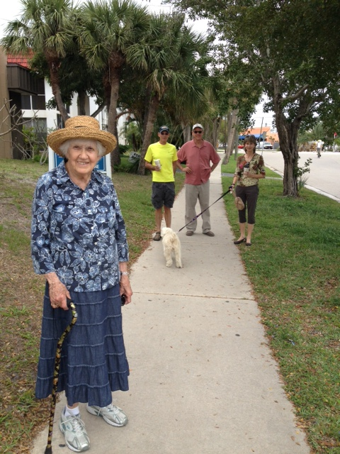 Taking a Siesta Key walk