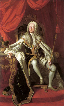 King George II of Great Britain (wikipedia image)