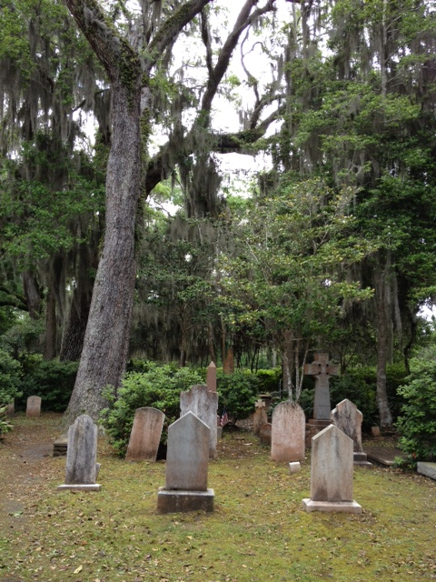 The cemetery at Christ Church