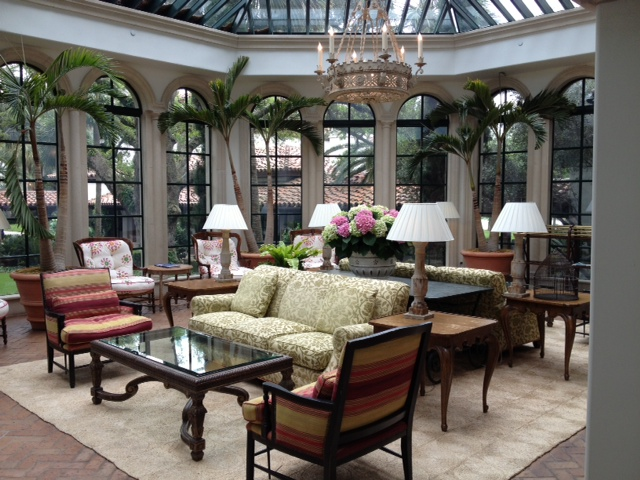 The lovely Conservatory