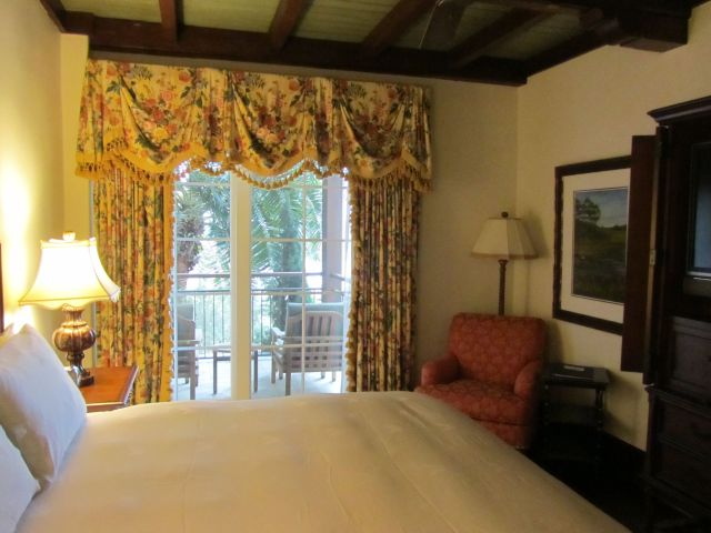 Our room - the photo does not do it justice