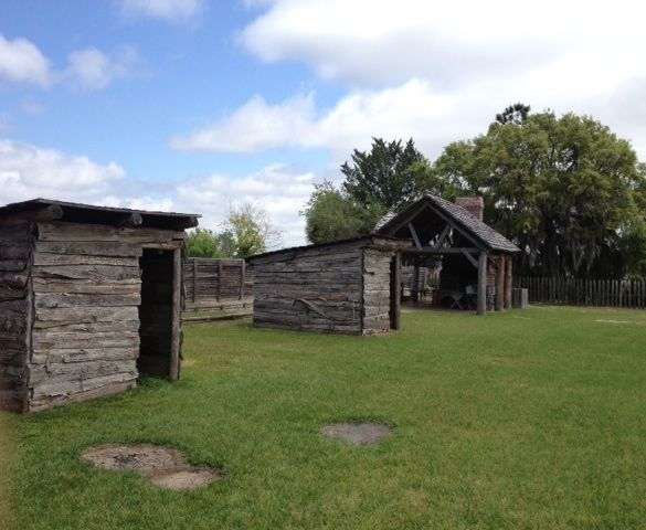 outbuildings at Ft. King George (polloplayer photo)