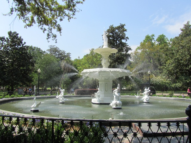 The fountain at Forsyth Park (polloplayer photo)
