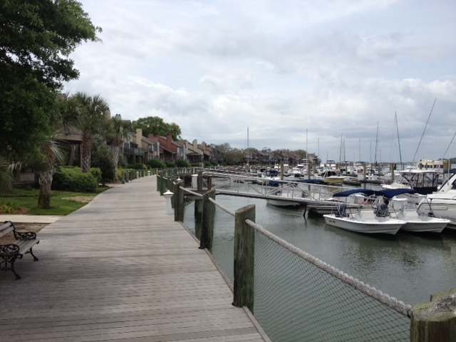 The Bohicket Marina on Seabrook Island