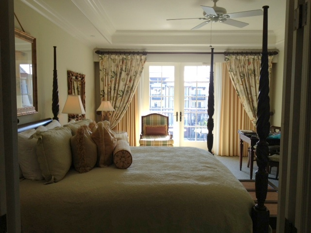 Our room at The Sanctuary. We had a partial ocean view.