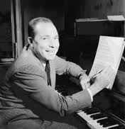 "Johnny Mercer, Savannah native and  lyricist for ""Jeepers Creepers"", ""Moon River"" among many others. (wikipedia image)"