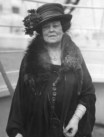 Alva Vanderbilt Belmont (image from britannica.com)