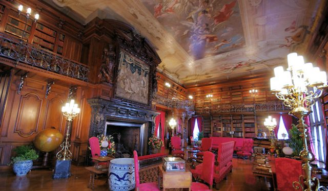 The Biltmore Library. (image from romanticasheville.com)