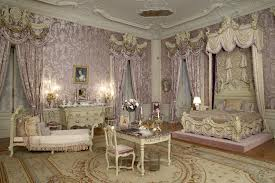 Alva Vanderbilt's bedroom at The Marble House. (image from squaredawayblog.bc.edu)