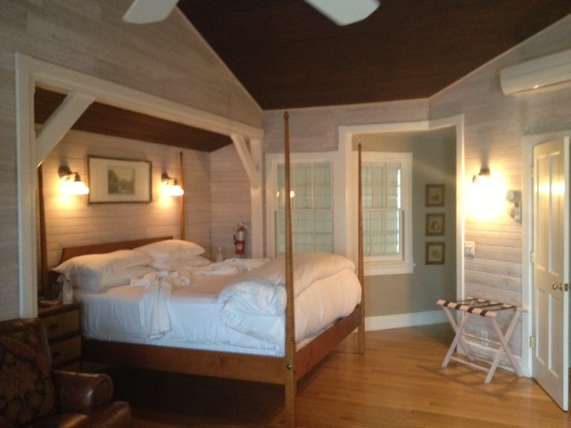 "Cozy interior of our Castle Hill Inn ""beach house"""