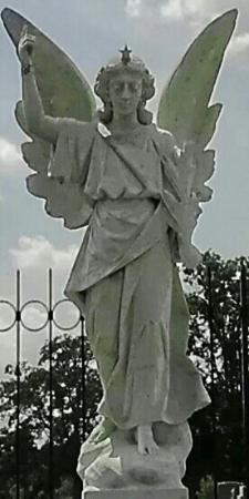 The angel that inspired the title of Wolfe's novel can be seen in the Asheville cemetery near Wolfe's memorial.