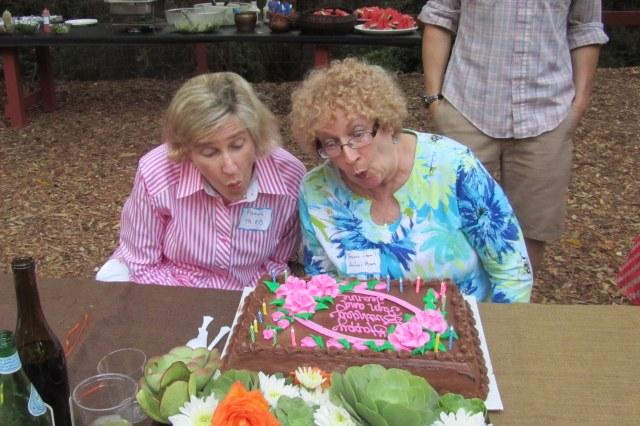 Happy birthday MOB and MOG!