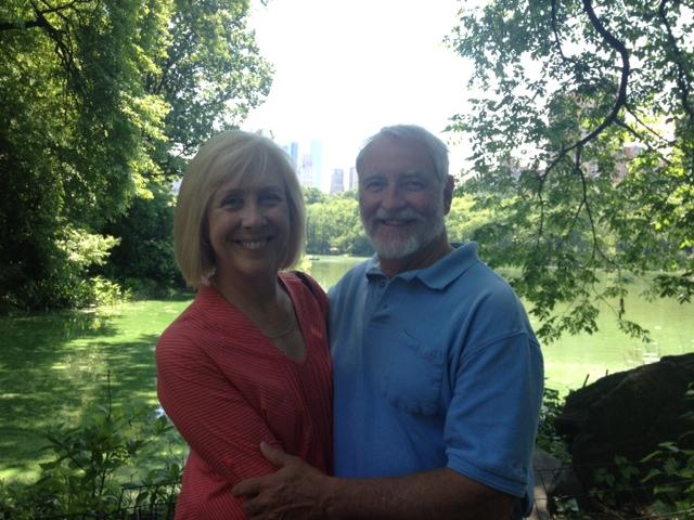 Nancy and Zane in Central Park