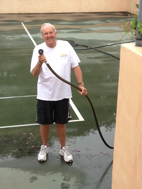 Dave always volunteers to help