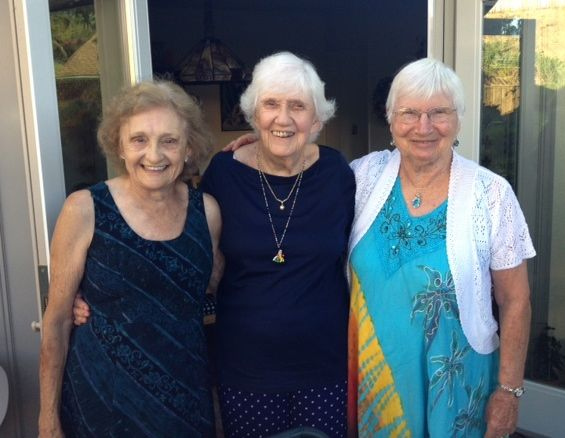 Nettie, Phyllis and Barb