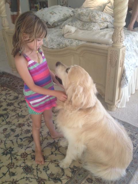 Evie is the Chloe-whisperer