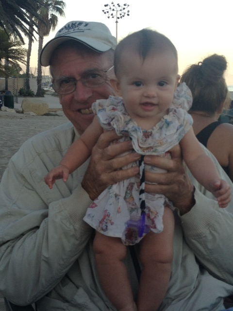 Grandpa and Caleigh