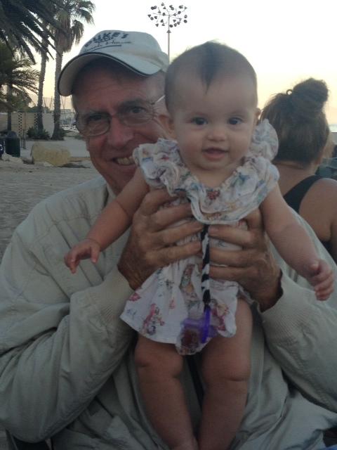 Grandpa and Caleigh
