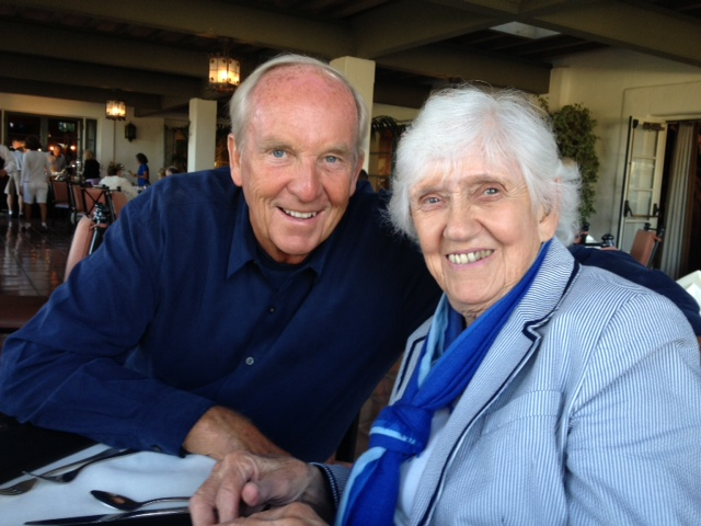 Dave wishes Phyllis a happy 91st