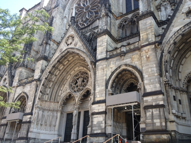 Exterior of the Cathedral of St. John the Divine