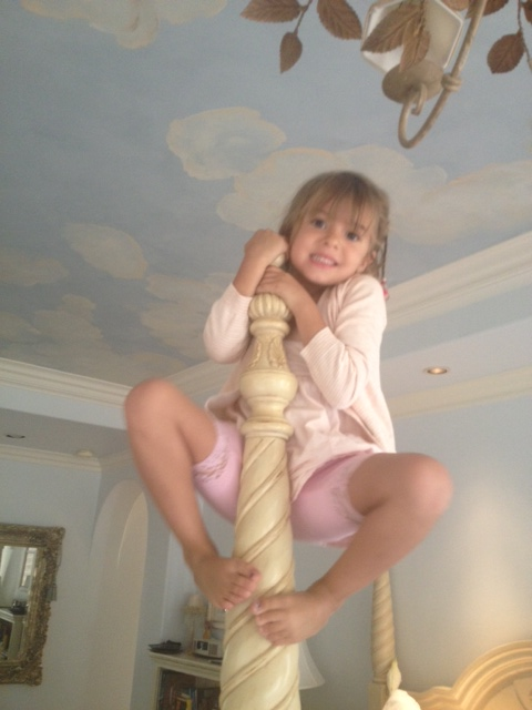 and Viv is the climber!