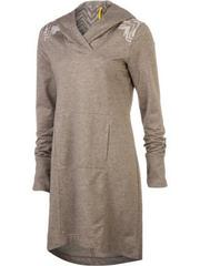 Fleece hoodie dress from Lole. (image from thefind.com)