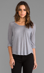 A typical Splendid tee, this one from Revolve Clothing, a great source for Splendid and other brands.