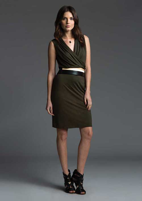 A three dots dress from their fall 2013 collection.