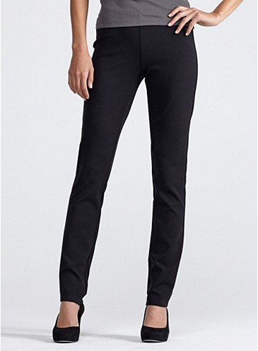 Eileen Fisher go-to ponte pants.