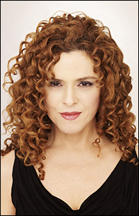 Bernadette Peters. If anything, she is more beautiful up close. (image from playbill.com)